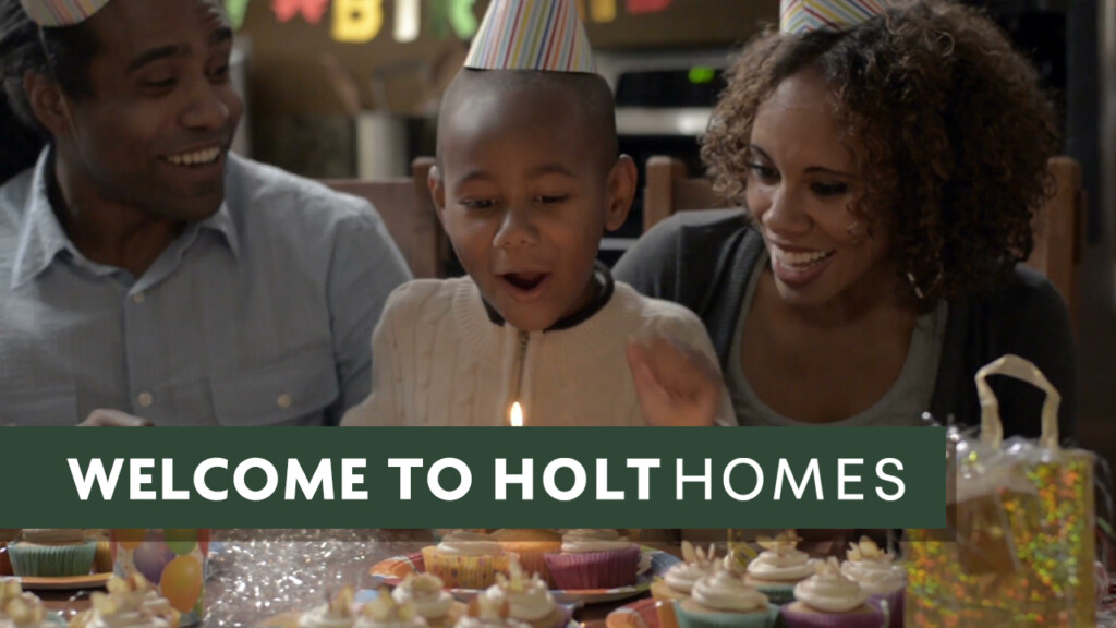 Watch About Holt Homes on YouTube